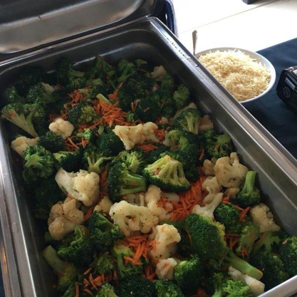 Broccoli, cauliflower, carrot medley