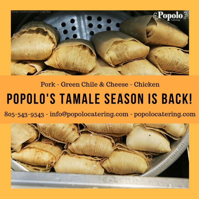 Popolo's Tamale SEason is back!